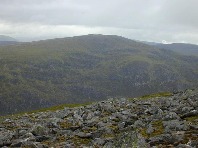 View north west from Beinn a' Chaorainn