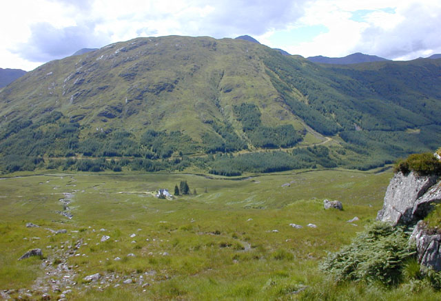 View over Glen Dessary