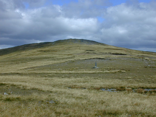 Pen Pumlumon Arwystli from the southwest
