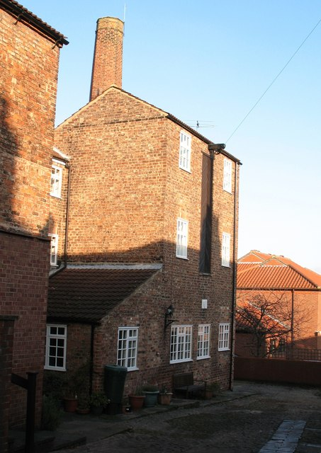 Old brewery buildings, Thirsk