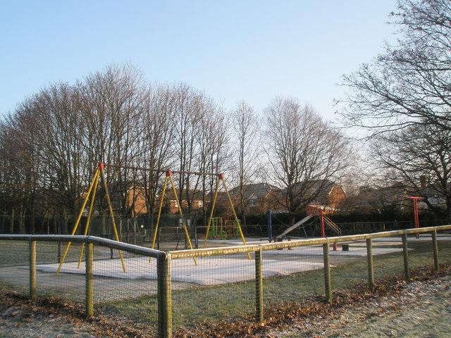 Children's Playground in Bidbury Mead