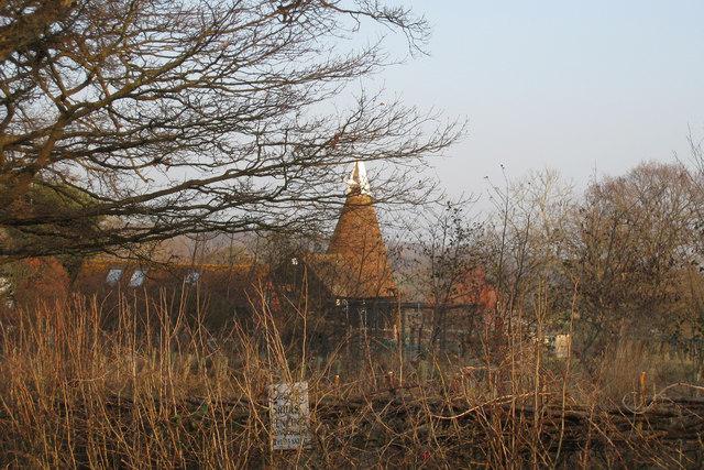Oast House at Crowhurst Bridge Farm, Shrub Lane, Burwash, East Sussex