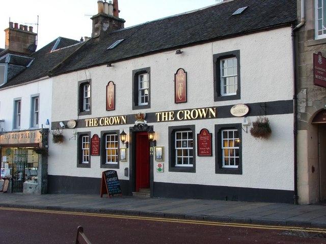 The Crown at Biggar