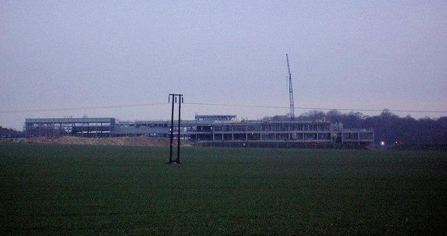 New school Edlington under construction