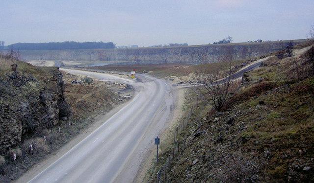 Marshall's dolomitic limestone quarry Stainton