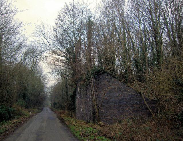 The missing bridge on Styrrup Lane