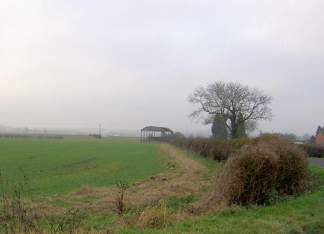 Disused barn on Holme Lane