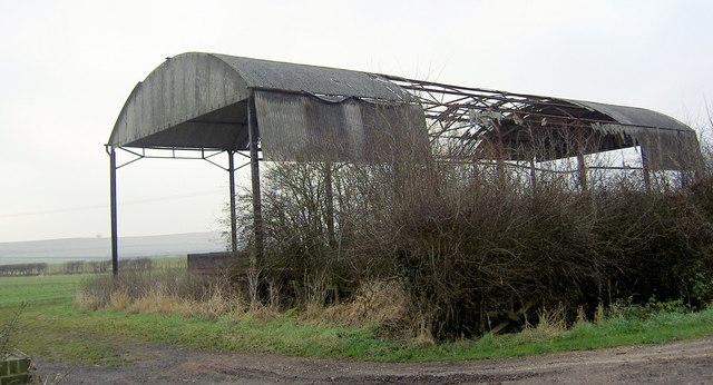 Detail of barn on Holme Lane