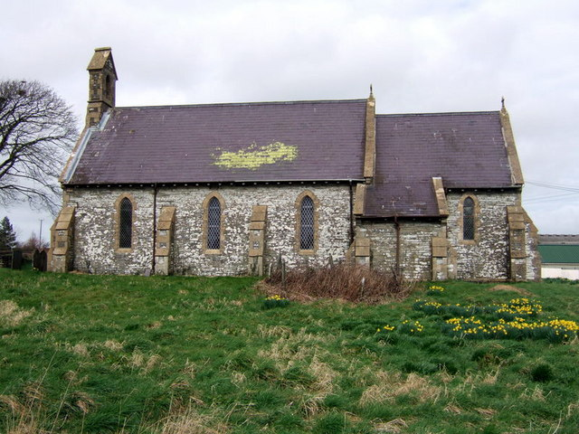Llantood  church
