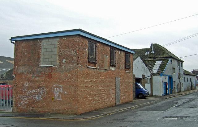 Minimalist Building, Lime Street, Hull