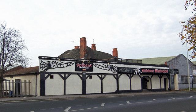 Spider's Nightclub, 9 Cleveland Street, Hull