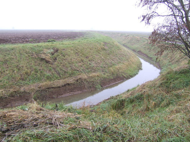 Drain on Moulton Marsh