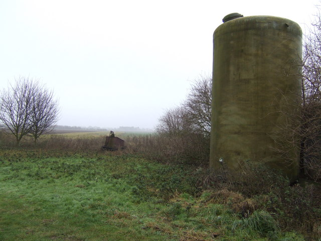 Old silo in Sibsey Fen