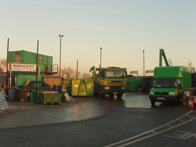 Recycling centre in Greenford