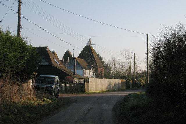 Farrows oast ivens oast new house oast house for The headcorn minimalist house kent
