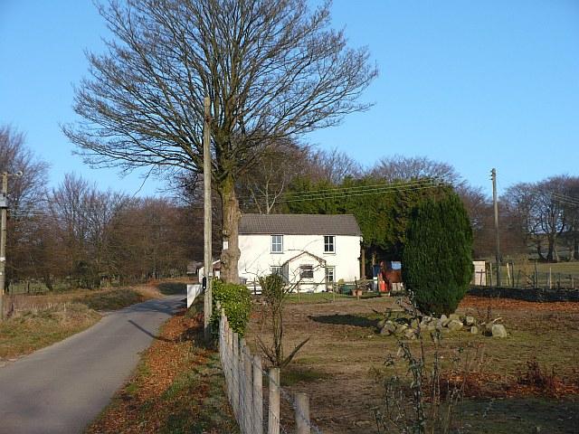 Farmhouse at Manmoel