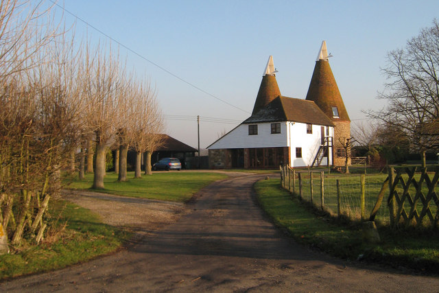 Tilden oast ulcombe road headcorn oast house for The headcorn minimalist house kent