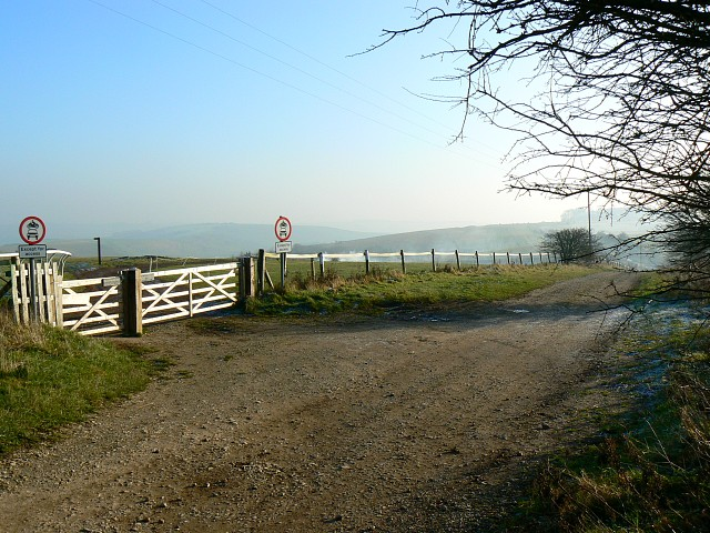 Byways junction, The Ridgeway, Barbury