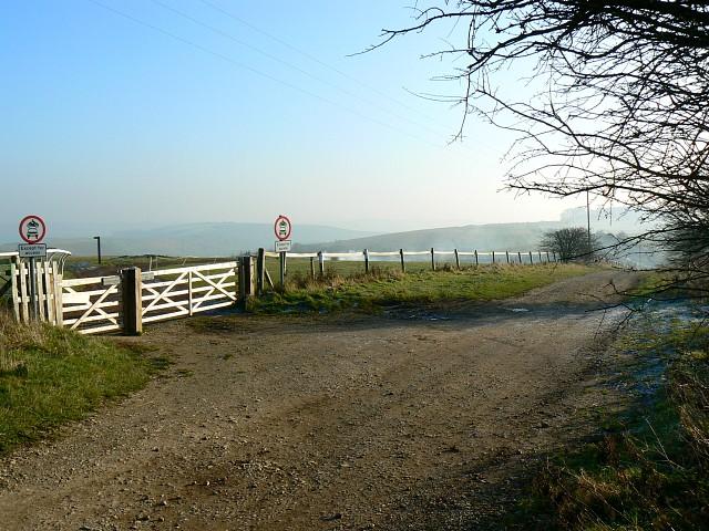 Byways junction, The Ridgeway, Barbury