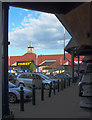 SU8757 : Farnborough Gate Retail Park by Euchiasmus