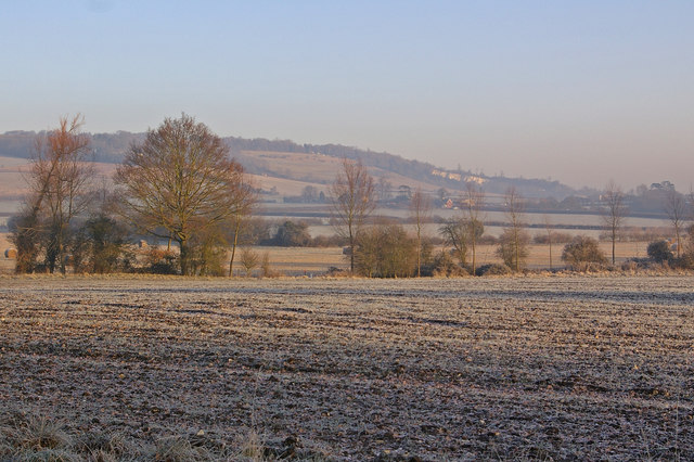 Winter fields by Chevening Lane