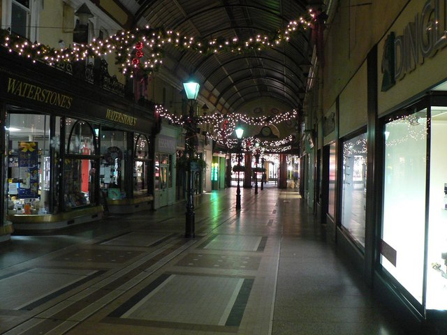 Bournemouth: The Arcade at Christmas