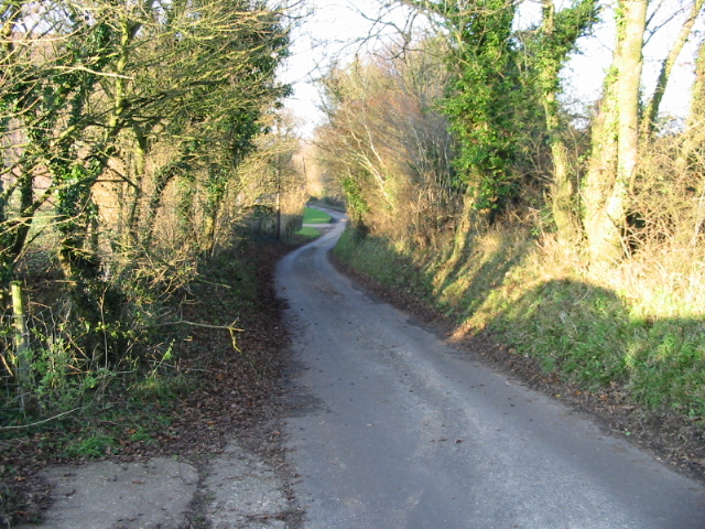 View along Singledge Lane