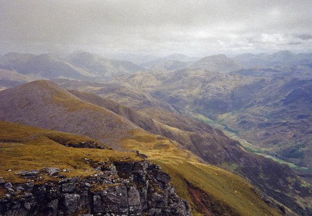 View from Beinn Sgritheall