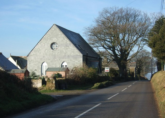 Trevadlock Cross Chapel