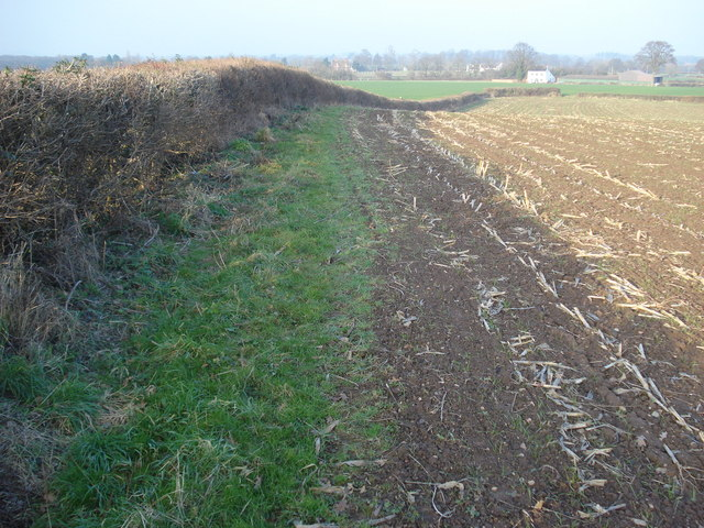 Footpath to Blackmore End Farm