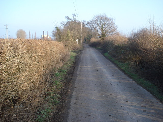 Lane to Broadacres Farm