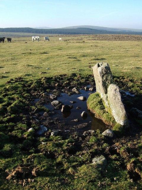 Stone on East Moor