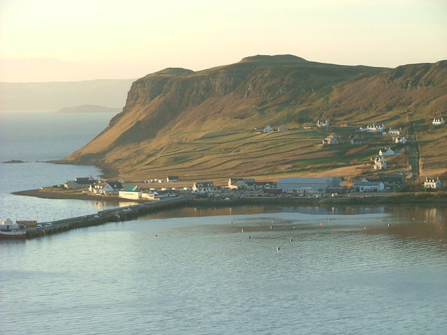 Uig Pier and Ferry Terminal