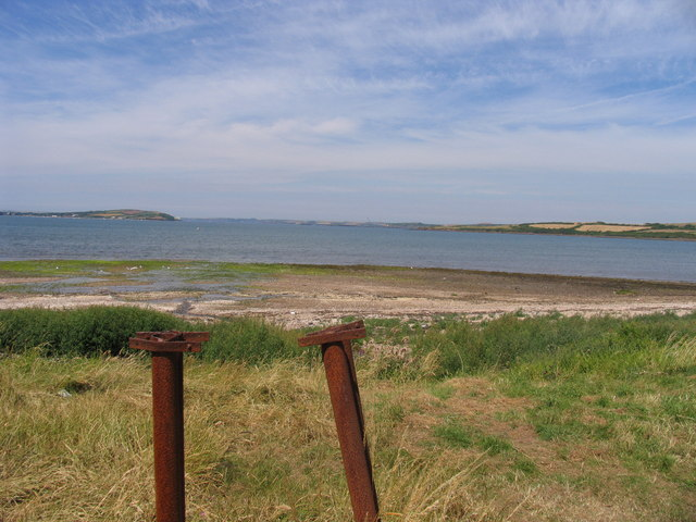 Angle bay looking towards Milford haven