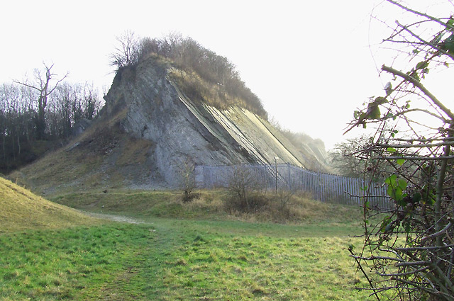 Limestone Outcrop, Dudley, Worcestershire