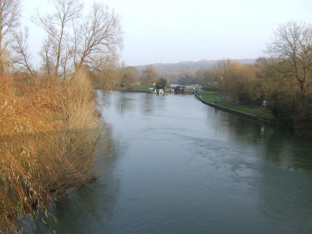 River Thames at Swinford Bridge