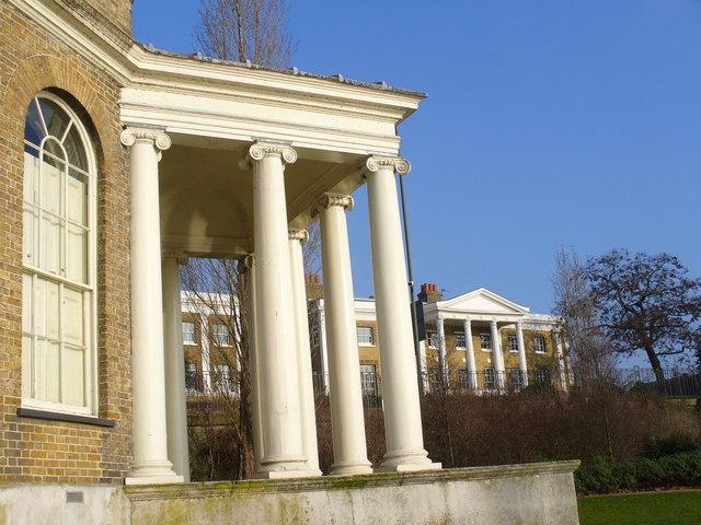 Garrick's Temple Porch