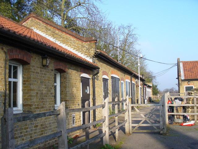 Stockyard, Bushy Park