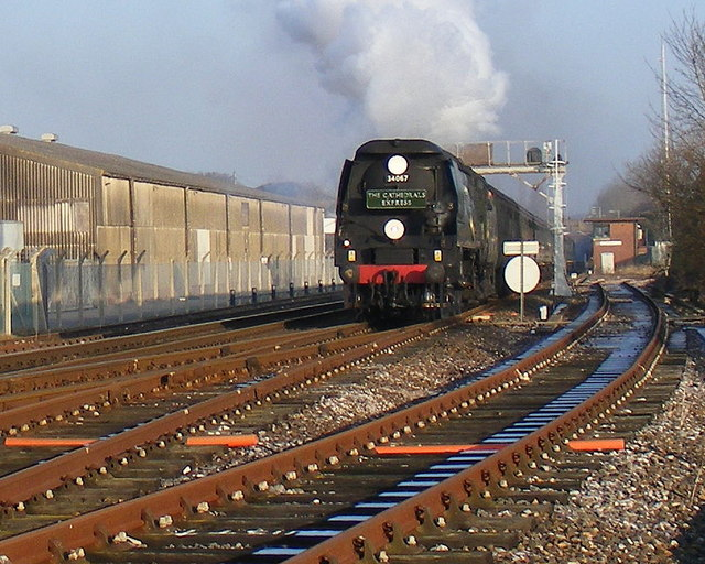 The Cathedrals Express to Sherborne 20th Dec.2007