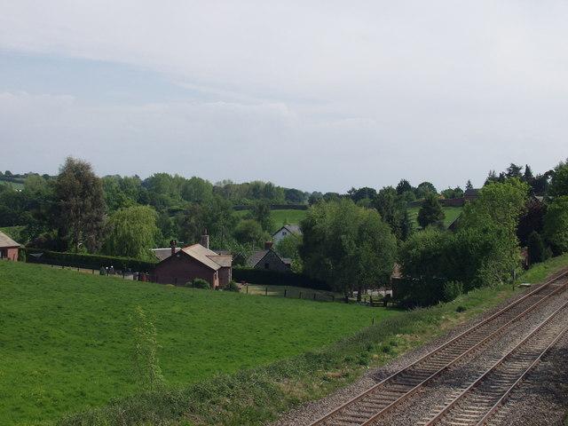 Houses at Bryn-yr-Eos