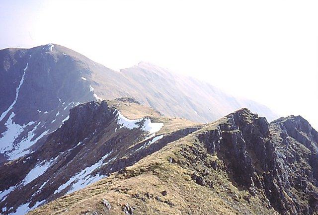 East ridge of Streap