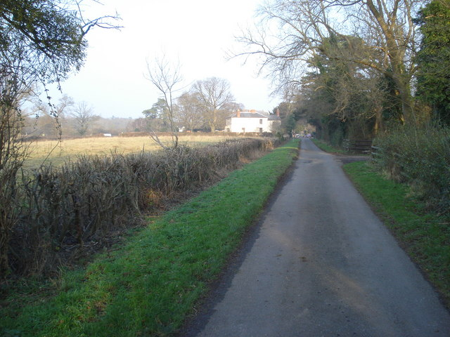 Lane to Guarlford