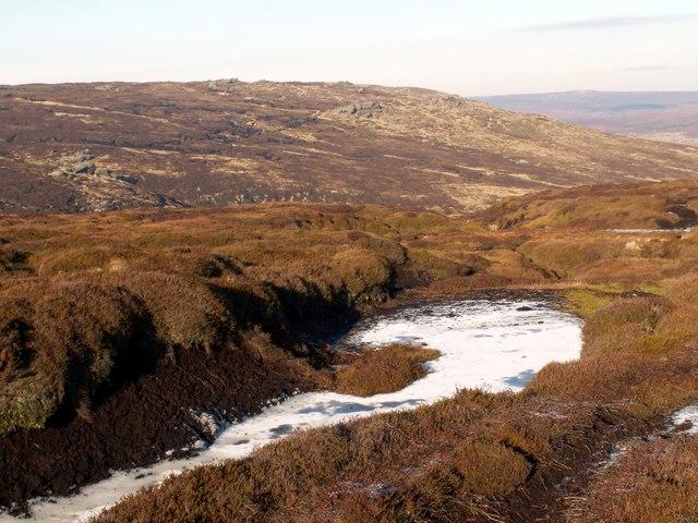 Blackden Moor looking to Seal Stones