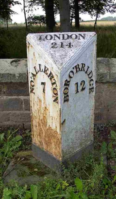 MilePost  On A167