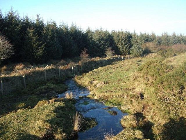 Stream beside Halvana Plantation