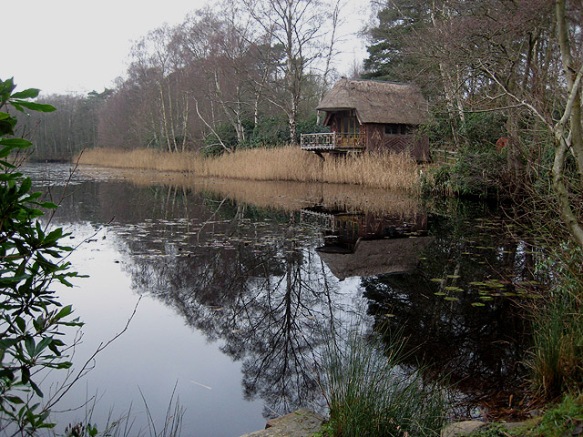 Boathouse in the reeds