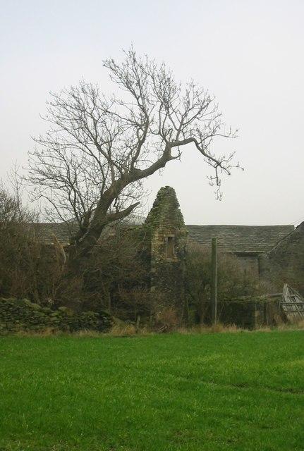 Ruined Farm Building, Upper Crawshaw