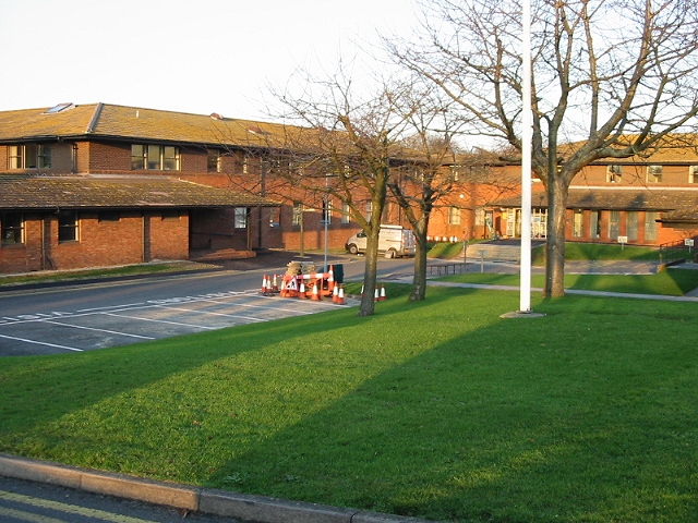 Council offices, Whitfield Close