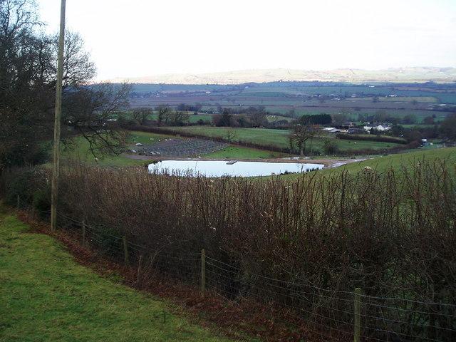 Pond, Pens & Village