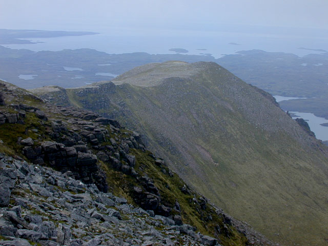 The Sron Garbh seen from the summit of Cul Mor
